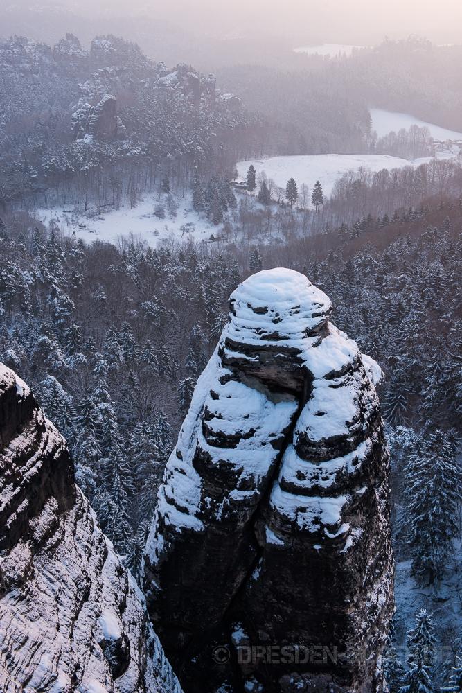 Wehlturm im Winter