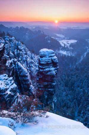 Sonnenaufgang am Höllenhund