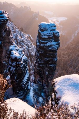 Winter am Höllenhund