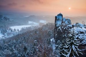 Der Mönch im Winter