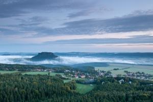 Nebel am Lilienstein