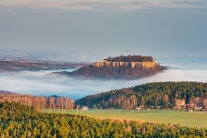 Festungsblick am Morgen