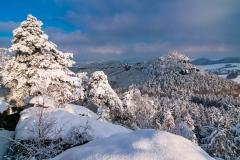 Winternachmittag auf dem Gohrisch