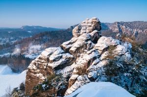 Westlicher Feldkopf im Winter