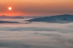 Sonnenaufgang mit Blick zum Zschand