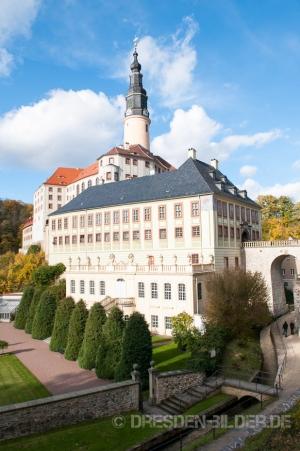 Schloss & Park im Herbst