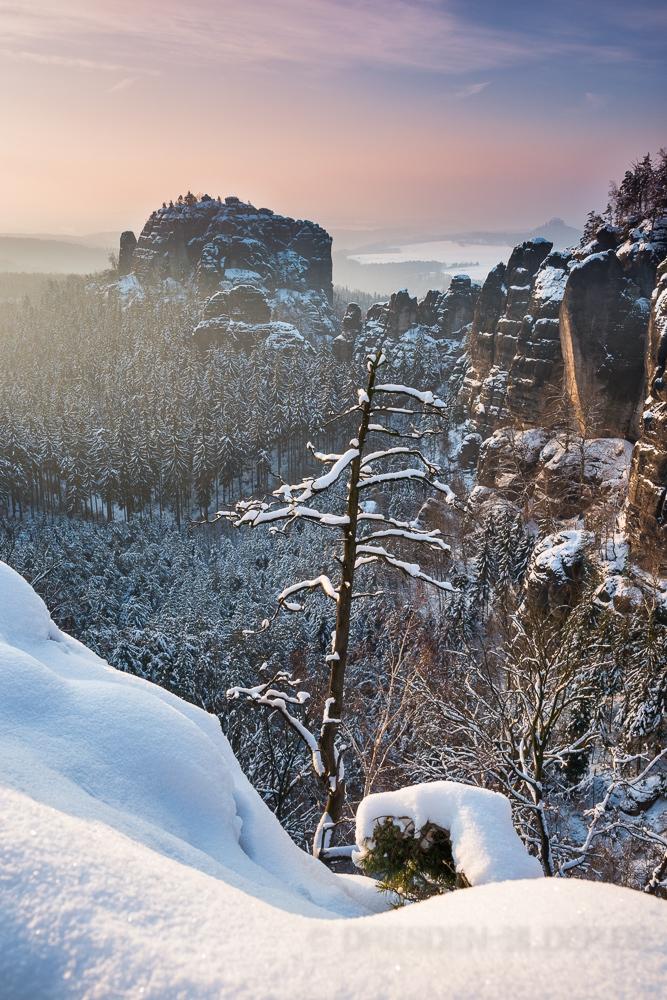 Rauschenstein im Winterkleid