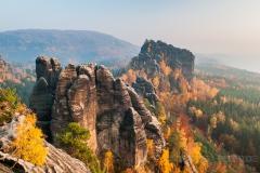 Rauschensteine im Herbstgewand