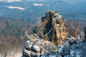 Müllerstein im Winter