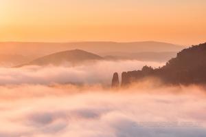 Morgenlicht am Bloßstock