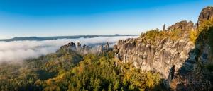 Panorama Schrammsteine