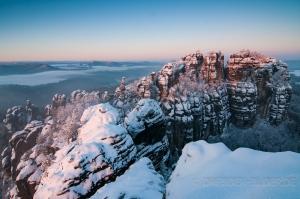 Winter im Schrammsteingebiet