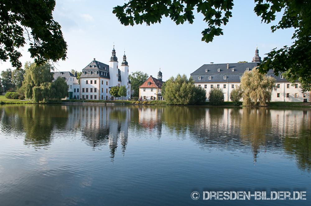 Schloss Blankenhain im Sommer