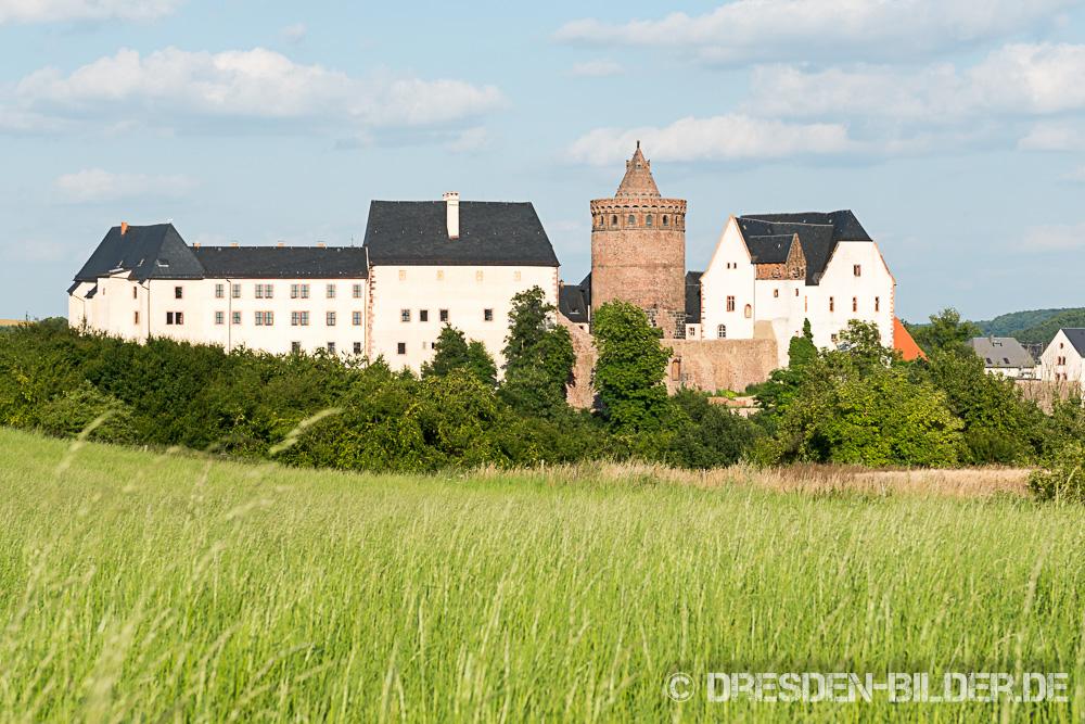 Schloss Mildenstein im Sommer