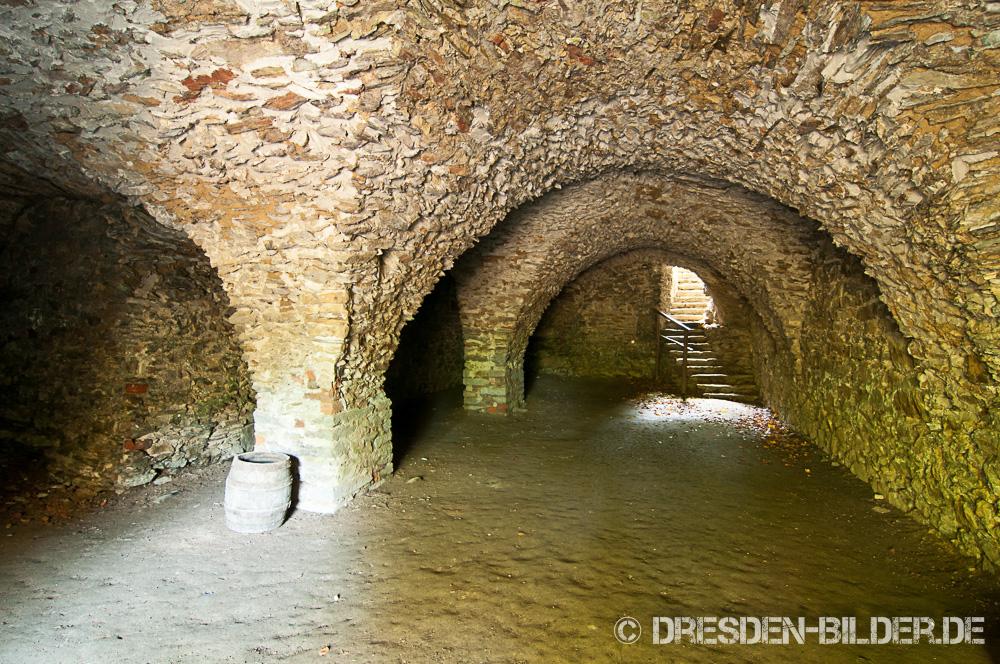 Kellergewölbe in Altzella