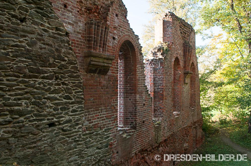 Ruinen im Klosterpark Altzella