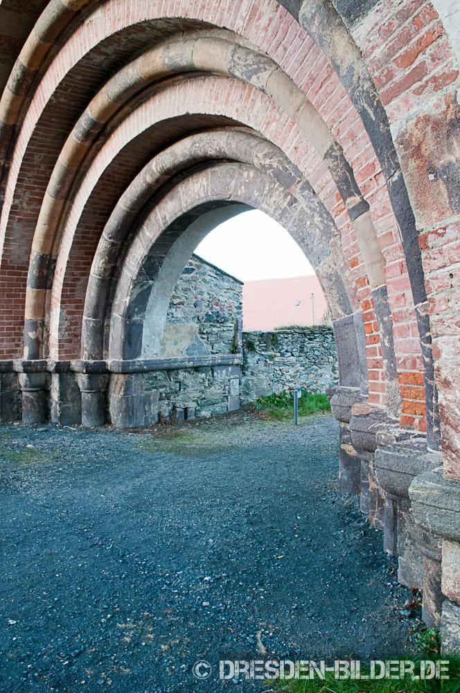 Romanisches Portal in Altzella