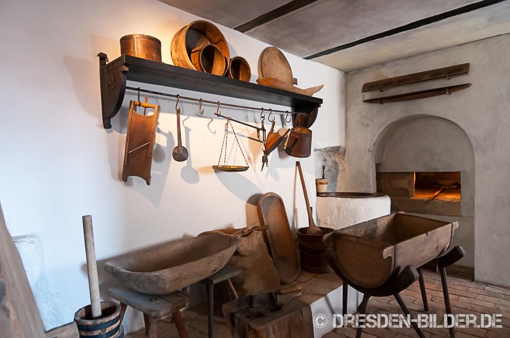 Burgküche in Gnandstein