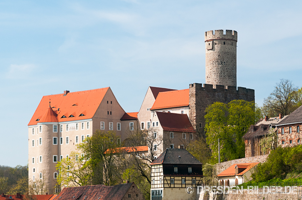 Burg Gnandstein im Frühling